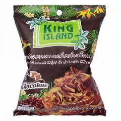 King Island Кокосовые чипсы с шоколадом 40г