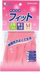 ST Family Хозяйственные перчатки из каучука с внутренним покрытием 1пара