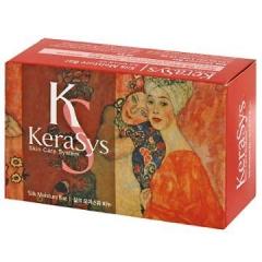 Kerasys Silk Moisture Soap Мыло с экстрактами альпийских трав и миндальным маслом (Персик) 100г
