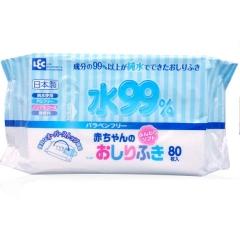 iPlus Влажные салфетки для новорожденных (содержат 99,9% воды) 80шт