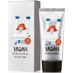Yadah Oh My Sun Block Легкий солнцезащитный крем SPF35/PA++ 50мл