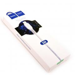 Кабель USB - Apple hoco 3м X20 Starlight Glare