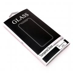 Стекло защитное DLED для iPhone X 5D белое