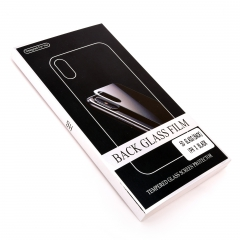 Панель защитная задняя DLED для iPhone X 5D черная
