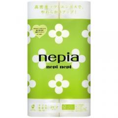 Nepia Nepi Nepi Двухслойная туалетная бумага без аромата 25м*12шт