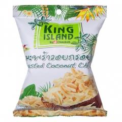King Island Кокосовые чипсы 40г