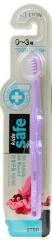 CJ Lion Kid's Safe Зубная щетка с нано-серебряным покрытием для детей 0-3 лет (мягкая) 1шт