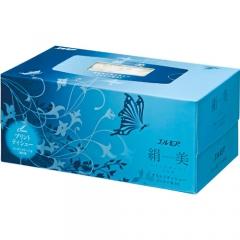 Kami Shodji Ellemoi Sacura Премиум бумажные двухслойные салфетки (Голубые) 200шт