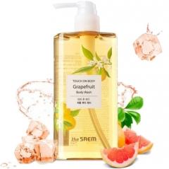 The Saem Touch On Body Grapefruit Body Wash Грейпфрутовый гель для душа 300мл