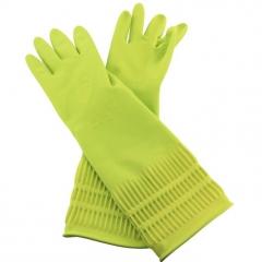 Clean Pastel Latex Glove Латексные перчатки с внутренним покрытием (удлиненные) 1пара
