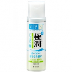 Hada Labo Gokujyun Легкий лосьон для увлажнения кожи с 3 видами гиалуроновой кислоты 170мл