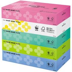 Nepia Nepi Nepi Mate Бумажные двухслойные салфетки 5 пачек по 150шт