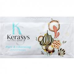 Kerasys Pure & Charming Perfumed Shampoo Парфюмированный шампунь (sample) 10г