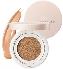 The Saem Saemmul Aqua Glow Cushion Увлажняющий кушон для сияния кожи SPF50+/PA+++ 15г