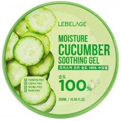 Lebelage Moisture Cucumber Purity 100% Soothing Gel Успокаивающий гель с экстрактом огурца 300мл
