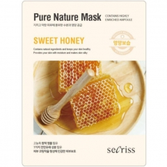 Anskin Secriss Pure Nature Mask Pack Sweet honey Маска для лица тканевая с медом 25мл