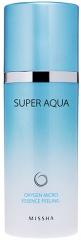 Missha Super-Aqua Oxygen Micro Essence Peeling Кислородный пилинг с гиалуроновой кислотой 100г