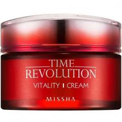 Missha Time Revolution Vitality Cream Интенсивный антивозрастной крем 50мл