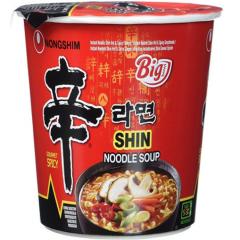 Nongshim Chin Cup Noodle Soup Лапша быстрого приготовления Шин Рамен 68г