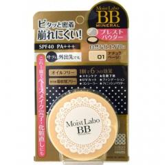 Meishoku Moisto-Labo Mineral Powder Минеральная компактная пудра