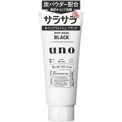 Shiseido UNO Освежающая мужская пенка для умывания с древесным углём 130г