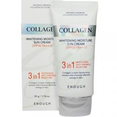 Enough Collagen Whitening Moisture Sun Сream Солнцезащитный крем с коллагеном SPF50+ PA+++ 50г