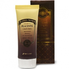 3W Clinic Premium Placenta Sun BB Cream BB-крем с плацентой 70мл