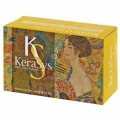 Kerasys Vital Energy Soap Мыло с экстрактами альпийских трав и коэнзимом Q10 (Роза и фрукты) 100г