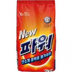 Welgreen New Power Ферментный стиральный порошок с легким ароматом 3кг