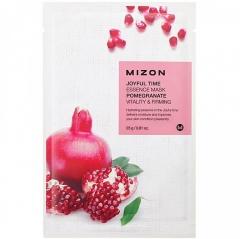 Mizon Joyful Time Essence Mask Pomegranate Тканевая маска для лица с экстрактом гранатового сока 1шт