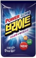 Mukunghwa Power Bright Refill Type Стиральный порошок с пузырьками кислорода и содой 9кг