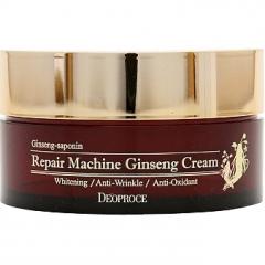 Deoproce Repair Machine Ginseng Cream Крем для лица антивозрастной с женьшенем 100г