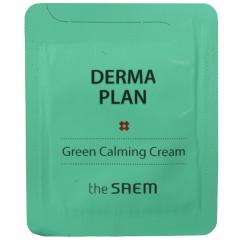 The Saem Derma Plan Green Calming Cream Крем для чувствительной кожи (тестер) 1.5мл