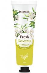 Deoproce Fresh Greentea Perfumed Hand Cream Крем для рук парфюмированный с зеленым чаем 50г