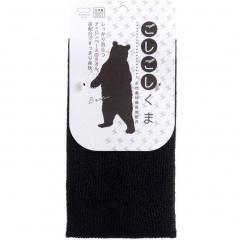 Marna Kuma Body Towel Нейлоновая мочалка с углем 20х90см (жесткая) 1шт