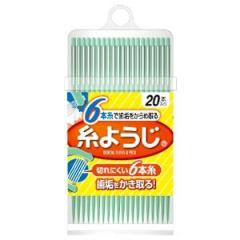 Kobayashi Флосс межзубный с пластиковым держателем 20шт