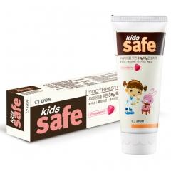 CJ Lion Kids Safe Зубная паста детская Клубника (3-12 лет) 90г