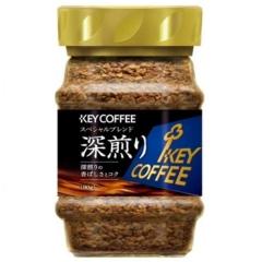 """Key Coffee Instant Coffee Special Blend Dark Roast Растворимый кофе """"Насыщенный вкус"""" 90г"""