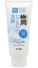 Hada Labo Gokujyun Face Wash Увлажняющая крем-пенка для умывания с гиалуроновой кислотой 100г