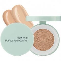 The Saem Saemmul Perfect Pore Cushion Тональная основа-кушон для кожи с расширенными порами 12г