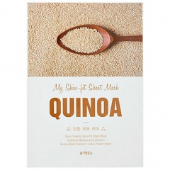 A'pieu My Skin-Fit Sheet Mask - Quinoa Тканевая маска для лица с киноа 25г