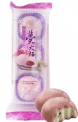 Royal Family Yume No Daifuku Mochi Budou Рисовые пирожные моти с виноградом (3шт) 90г