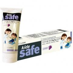 CJ Lion Kids Safe Зубная паста детская Виноград (3-12 лет) 90г
