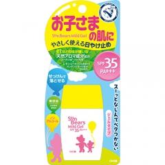 Omi Brother Sun Bears Солнцезащитный гель для чувствительной кожи SPF35/PA+++ 30г