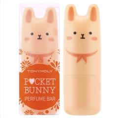 Tony Moly Hello Bunny Сухие духи в стике (#02 Сочный Барни - Цитрус, Бергамот, Ландыш, Фрезия) 9г