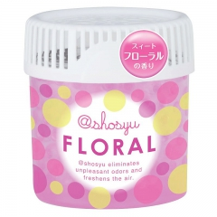 Kokubo Floral Поглотитель неприятного запаха в виде гелевых шариков с цветочным ароматом 150г