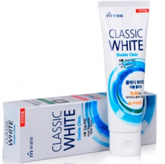 Mukunghwa Classic White Отбеливающая зубная паста с микрогранулами (Мята, ментол) 110г
