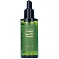 Eunyul Green Seed Therapy Calming Ampoule Ампульная успокаивающая сыворотка 50мл