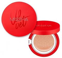 Missha Velvet Finish Cushion Тональный крем-кушон SPF50+/PA+++ 15г