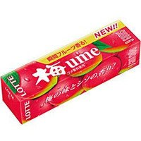 Lotte Японская слива Жевательная резинка 20.8г